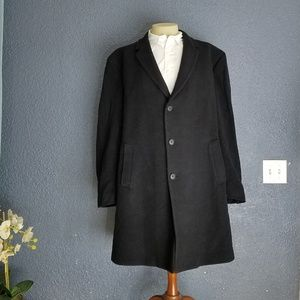 Kenneth Cole Wool Cashmere Blend Trench Coat